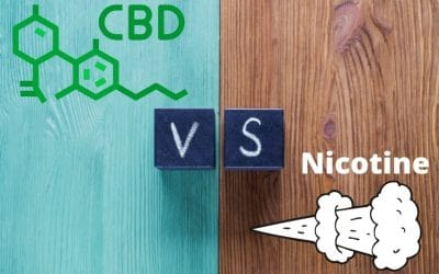 E-liquide CBD VS Nicotine